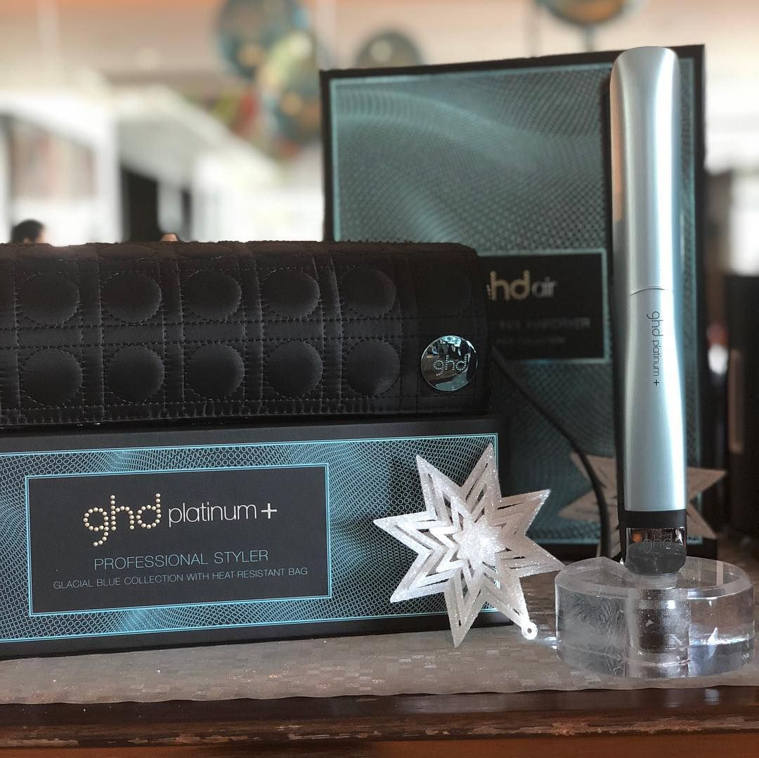 Get into Christmas with the ghd glacial blue collection - photo by  resrob1   ghdglacialblue a98649a20a