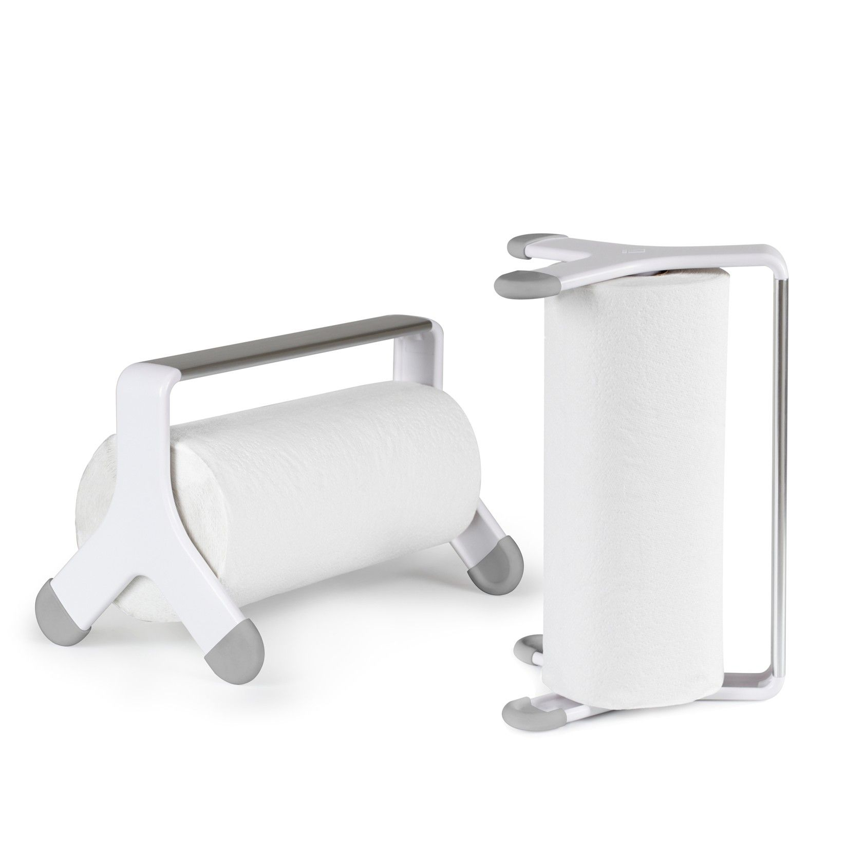Umbra Retro Tritow White Paper Kitchen Towel Holder