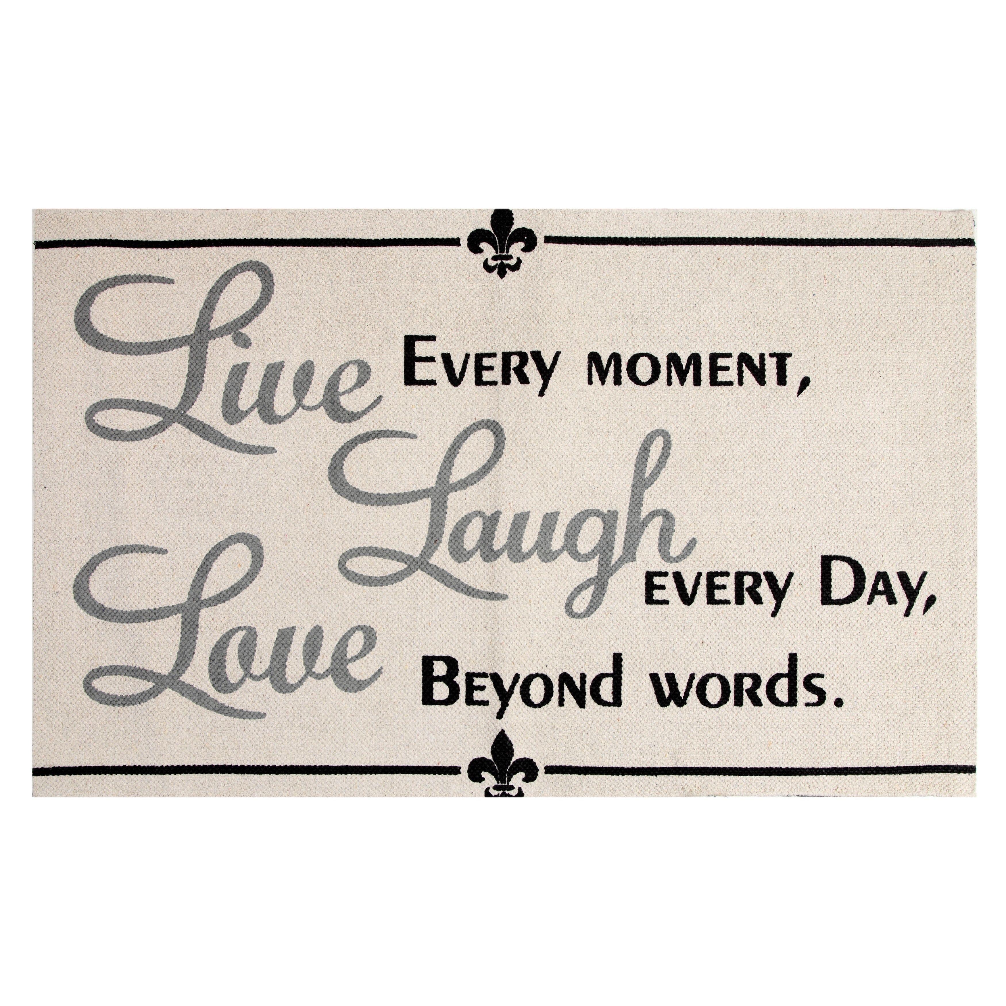 Chesapeake Merchandising, Inc Live, Laugh, Love Cotton