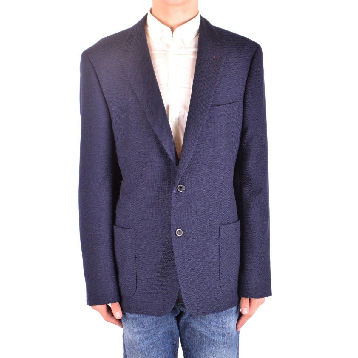 fay men's wool blue jacket glamtop