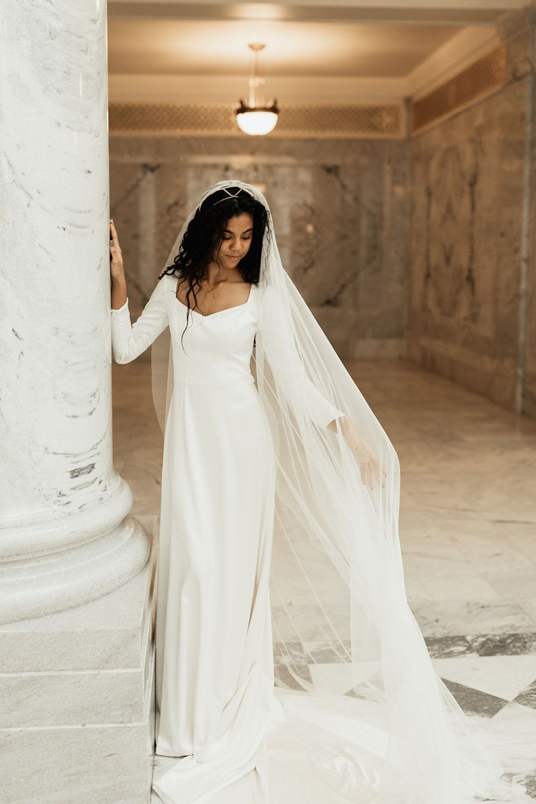 New Nekline On Modest Wedding Dress Modest Wedding Dresses Wedding Dresses Wedding Dresses Lace [ 1600 x 1067 Pixel ]