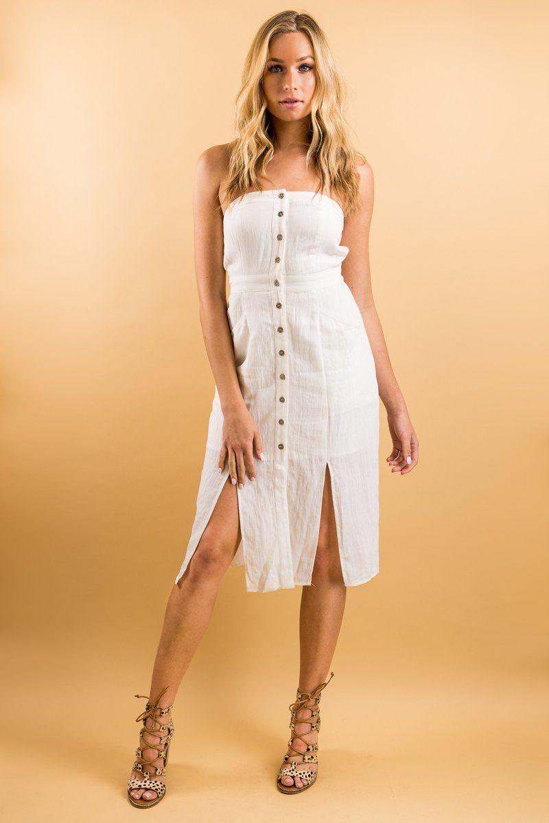 af54e192b4ac Wishful Thinking Linen Dress