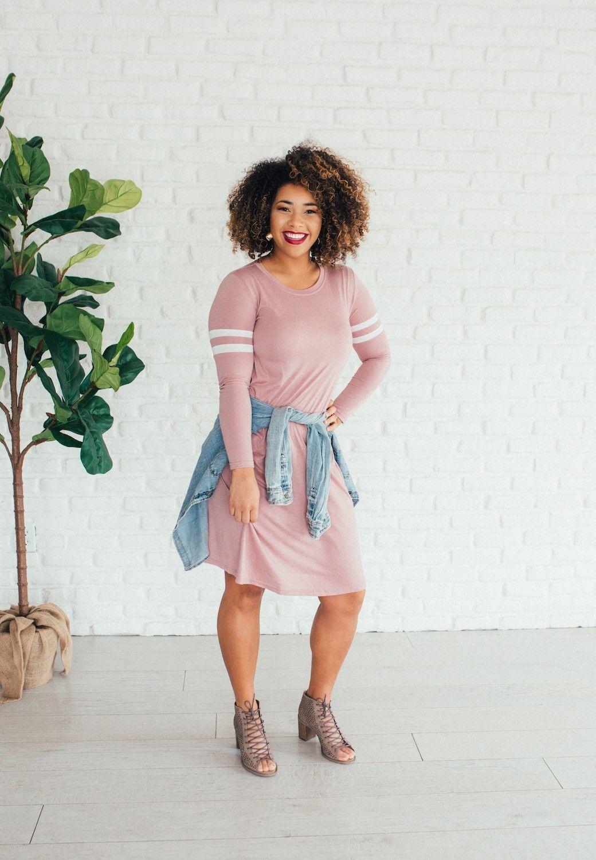 Mina Mauve Dress | Brickyard Buffalo | Daily Boutique Deals