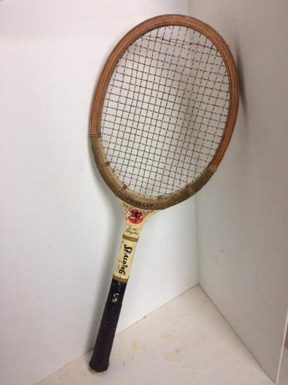 Poncho Gonzales Vintage Tennis Racket Old Tennis Racket Etsy Vintage Tennis Tennis Racket Rackets