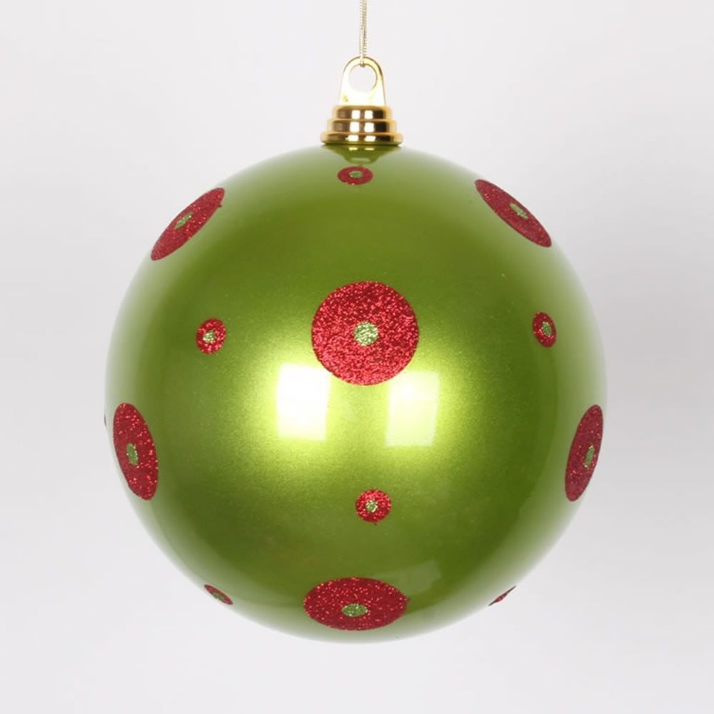 Candy Ball Ornament Painted Christmas Ornaments Christmas Ornaments Christmas Balls