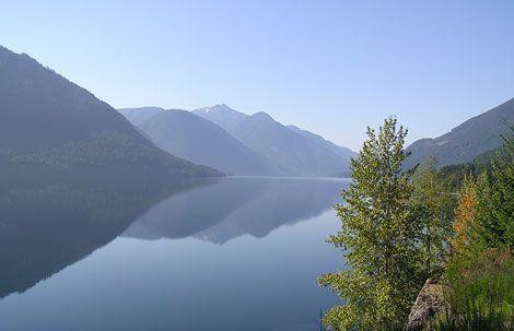 Sproat Lake, Pacific Rim, Vancouver Island, BC.