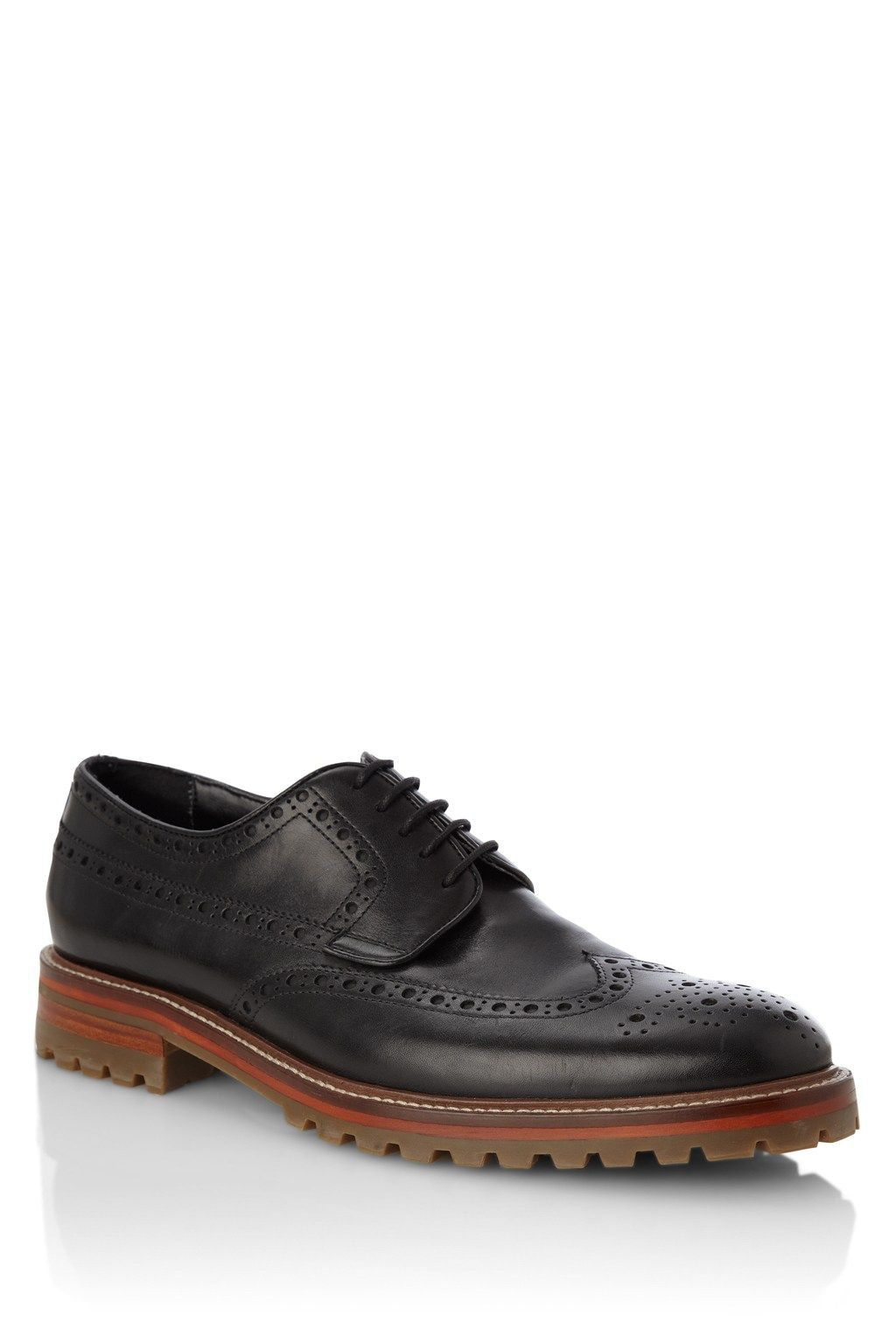 41125a8b44 Chuck Leather Brogues - Mens Shoes - French Connection | Mens ...