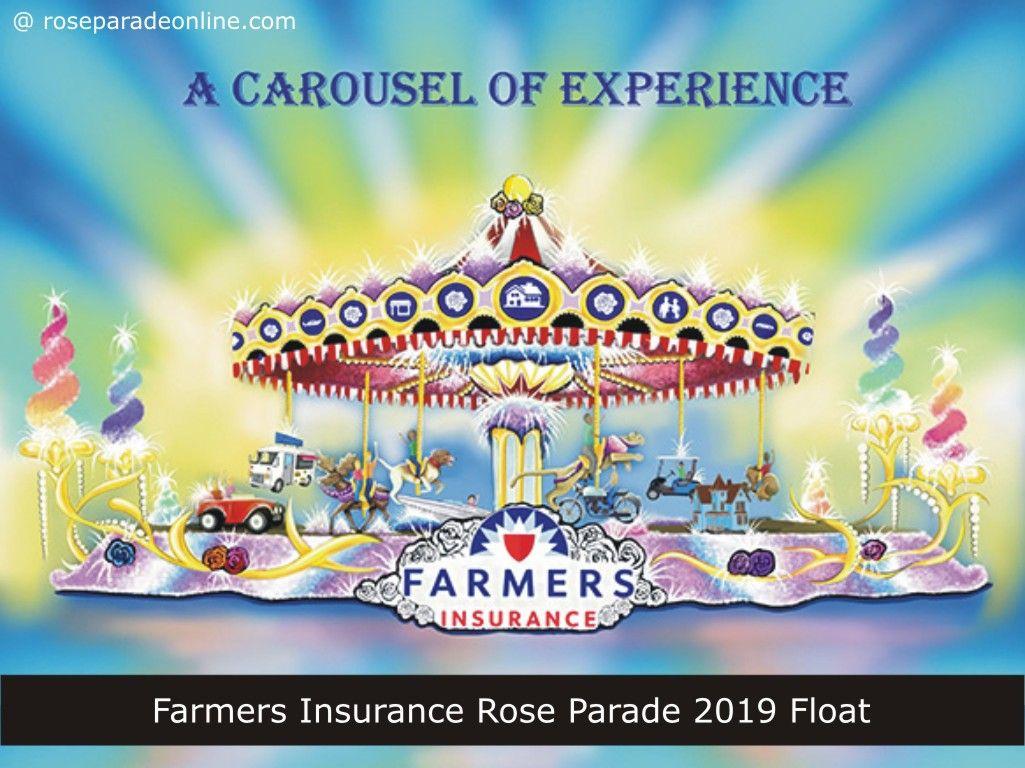 Farmers insurance rose parade 2019 float rose parade