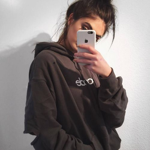 Girl iphone and tumblr image tumblr pinterest for Miroir tumblr