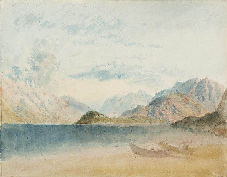 Joseph Mallord William Turner Lake Como 1819 Aquarelle