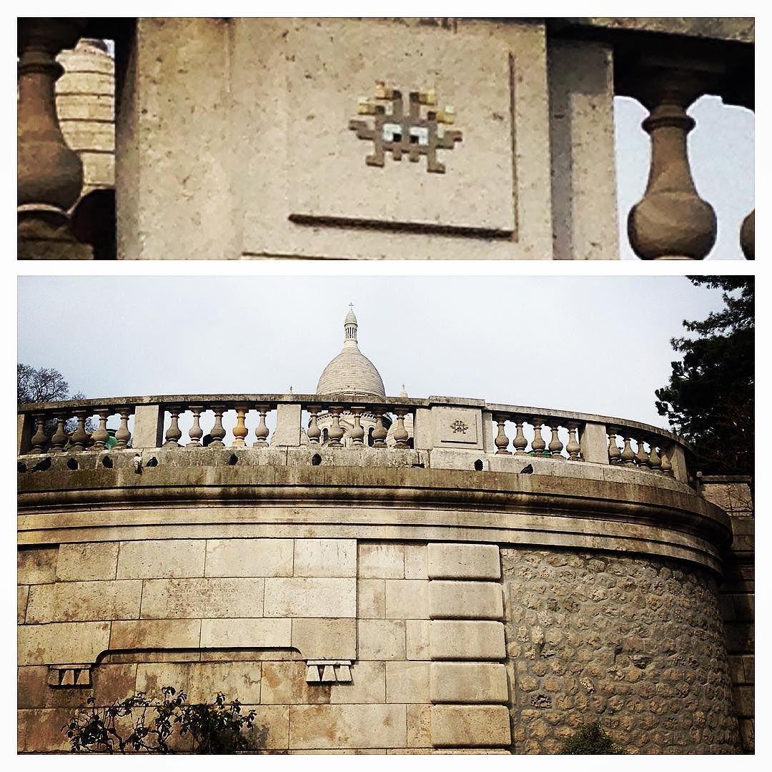 On instagram by paris_invaders #spaceinvader #unas (o) http://ift.tt/1Y8p9VU #invaderwashere #invaders  s #streetart #artderue #wallart #tile #tiles #ceramics #ceramique #paris #artinparis #streetartparis #invaderparis
