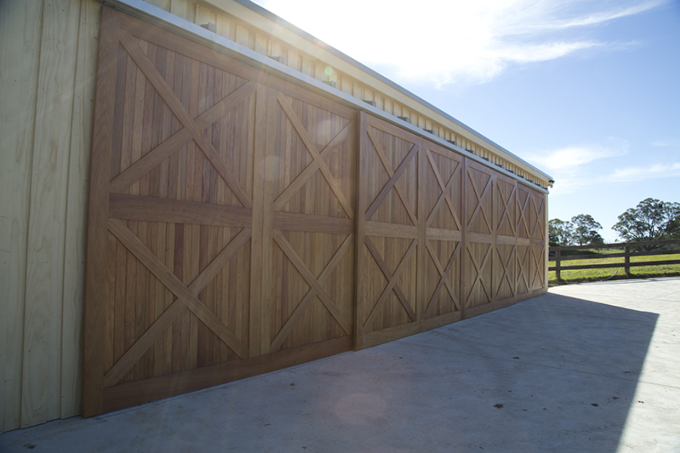 Custom Built Garage Doors Barn Doors Stable Doors Evalock Bowral
