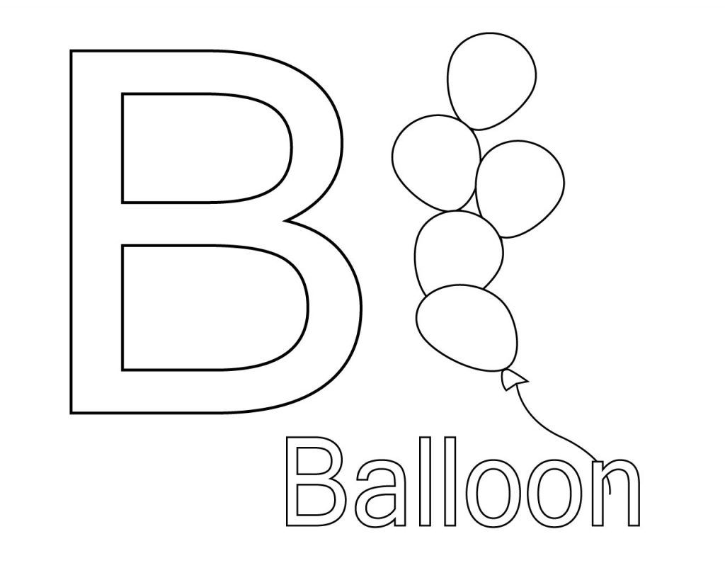 letter b colouring pages  free coloring pages  lettering