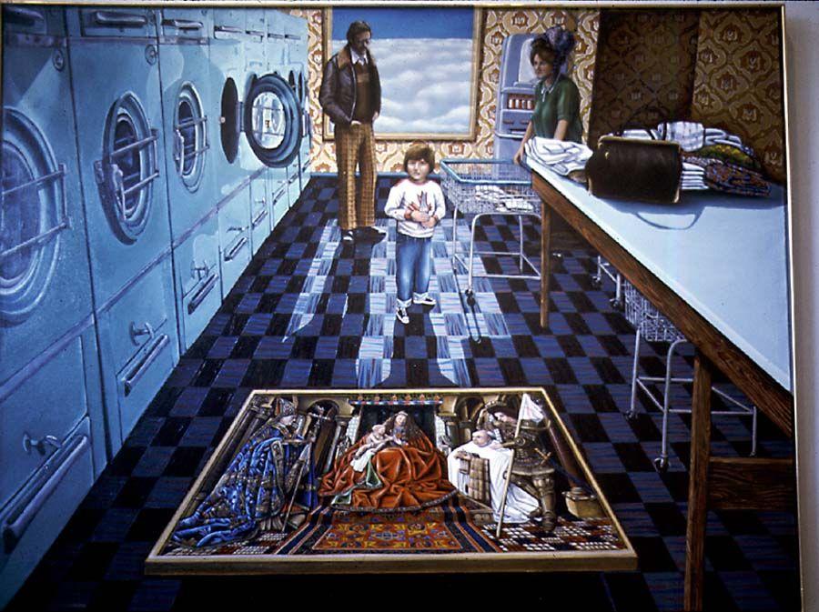 David Bierk | JOURS DE LESSIVES | David, Magic realism et ...