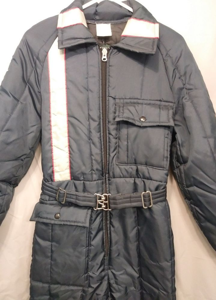 vtg walls blizzard pruf insulated snowmobile suit men s on walls coveralls for men insulated id=22627