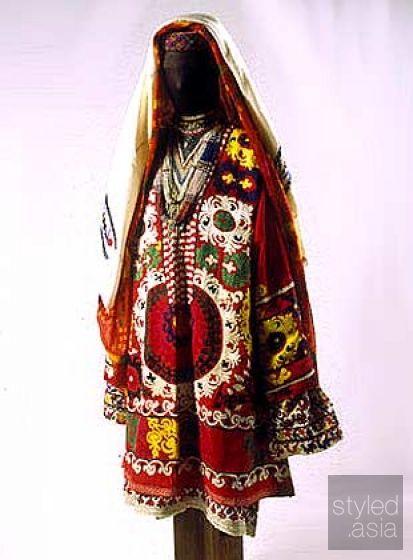 Tajikistan national costume, таджикский народный костюм - Google Search