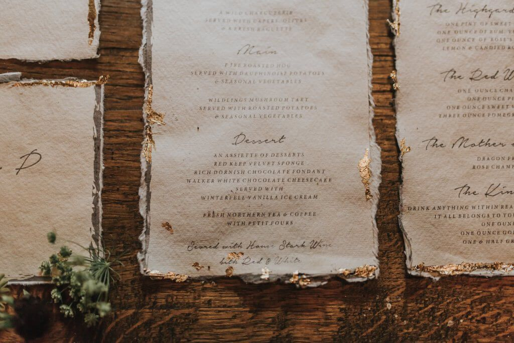 Game Of Thrones Inspired Wedding Cake Autumnal Wedding