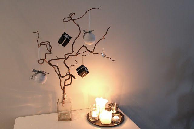 alternative christmas tree  @ Shh, it's a secret! -blog