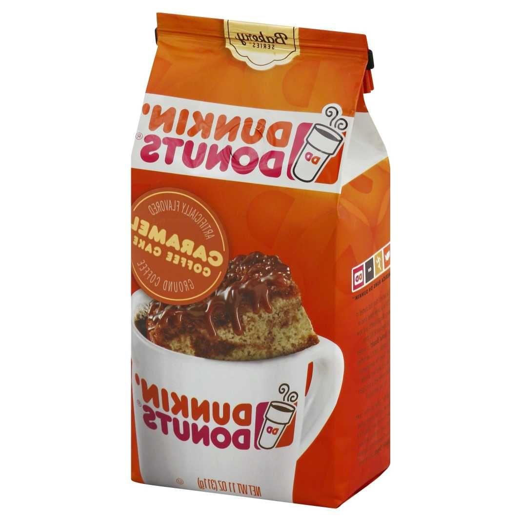 amazon com dunkin donuts french vanilla flavored ground coffee