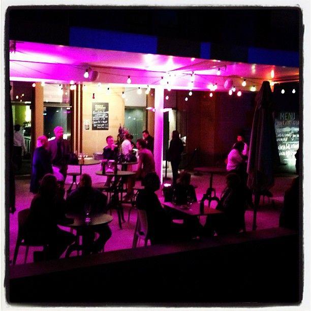 Pink bar at MCA during #vividsydney = Love the Pink! Photo by @theactingedge #vividfestival