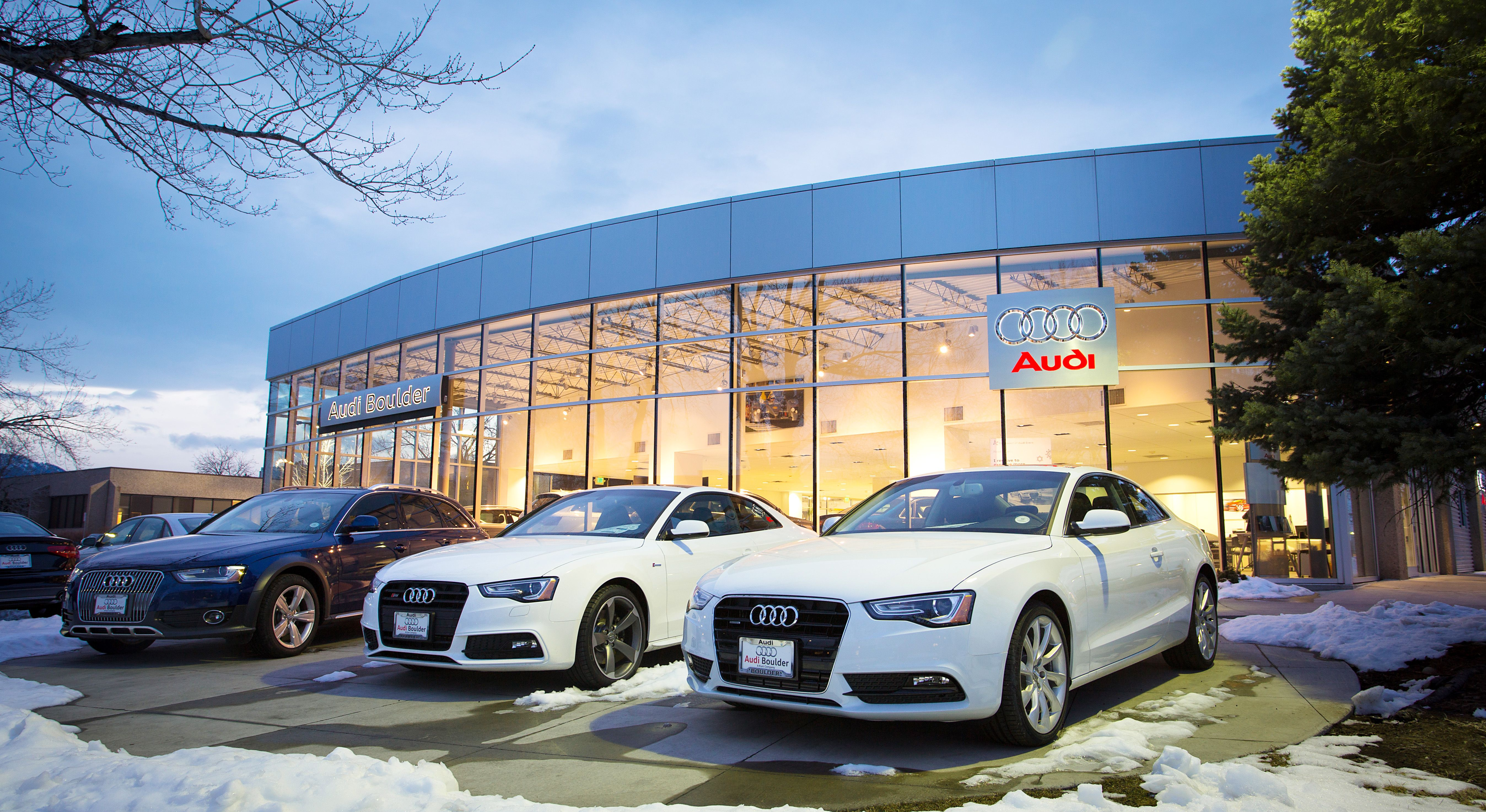 Audi Boulder Colorado Dealership Photo Exposition Drive - Audi boulder