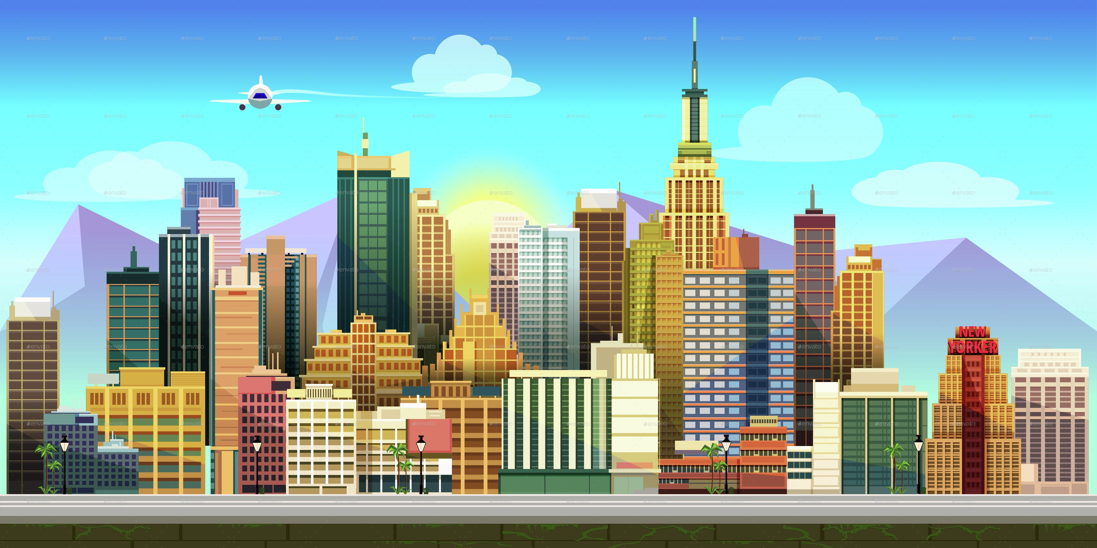 Related Image Game Background City Games City Cartoon