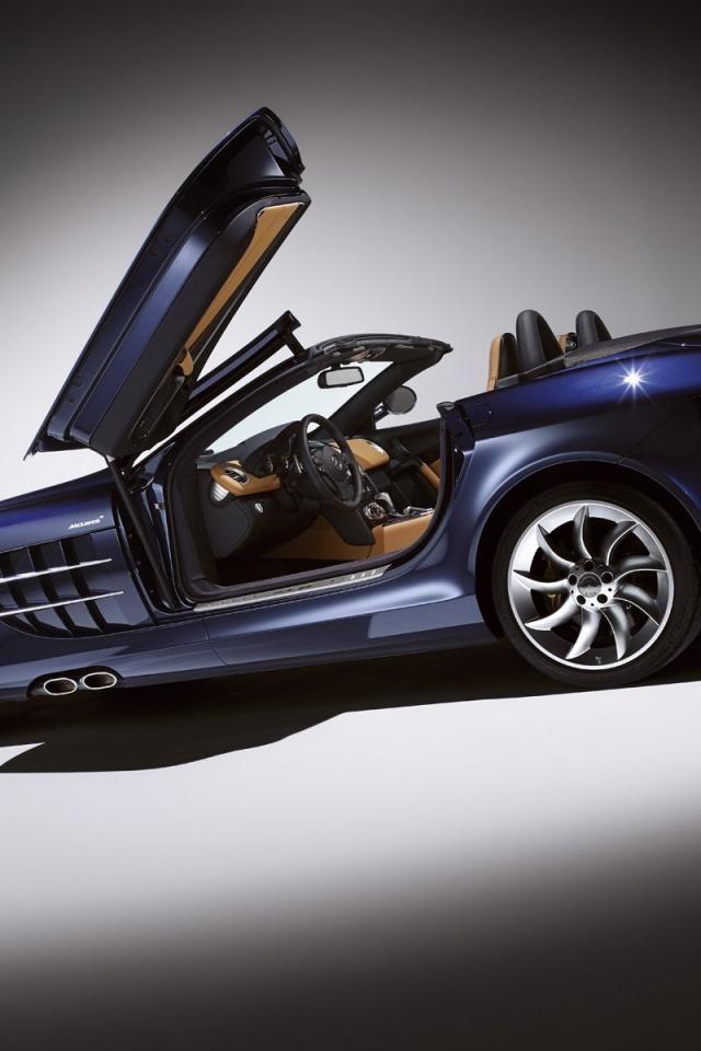 ♂ Luxury car #vehicle Navy blue Mercedes Benz , SLR Mclaren ...