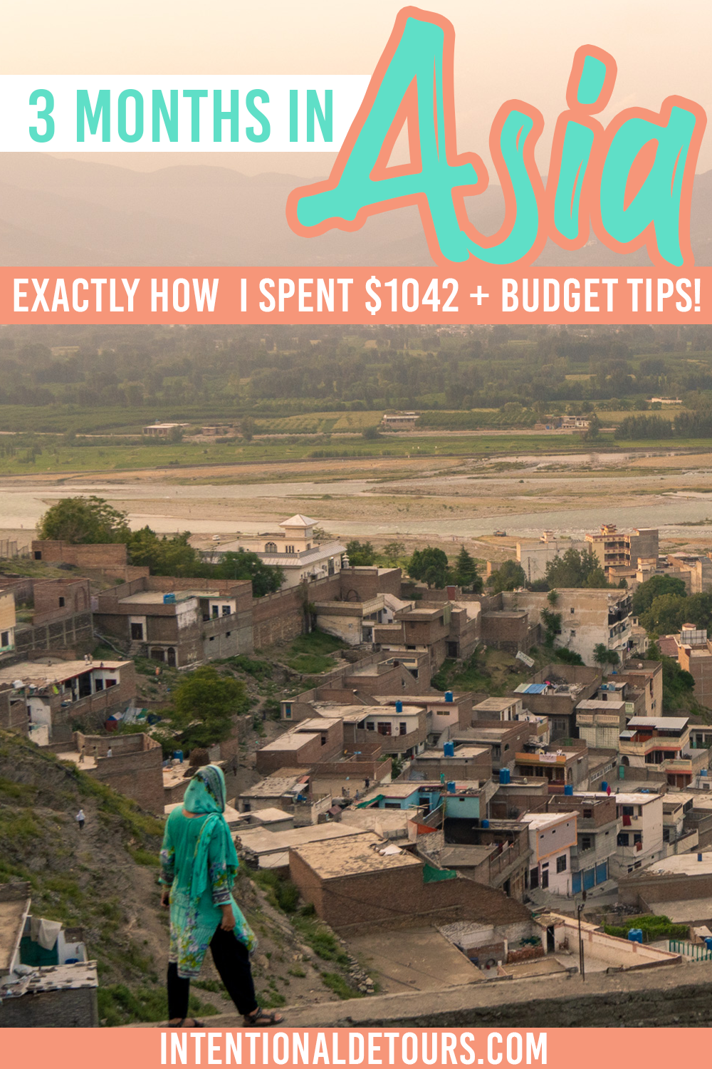 Planning to backpack/ budget travel South Asia? Here's exactly how much 3 months of travel cost in India and Pakistan. Includes our daily expenses, average daily budget, and recommendations for sticking to this 3 month budget on your Asia backpacking trip. #budgettravel #backpackingAsia #India #Pakistan