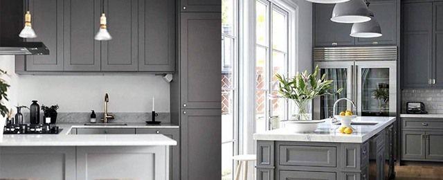 Top best grey kitchen ideas  refined interior designs also rh pinterest