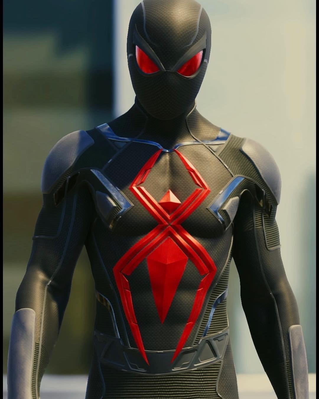 The final Suit! Spidey Suit Series; Dark Suit 📸 