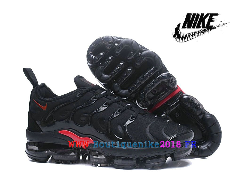 sale retailer 7f676 dd950 Chaussures Nike Air VaporMax Plus AO4550-ID12 pour Homme Nike TN Pas Cher  Pour Femme Noir Rose