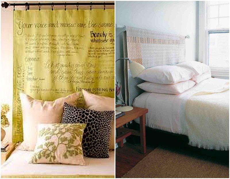 Ideas para hacer cabeceros originales y baratos muebles for Muebles originales baratos