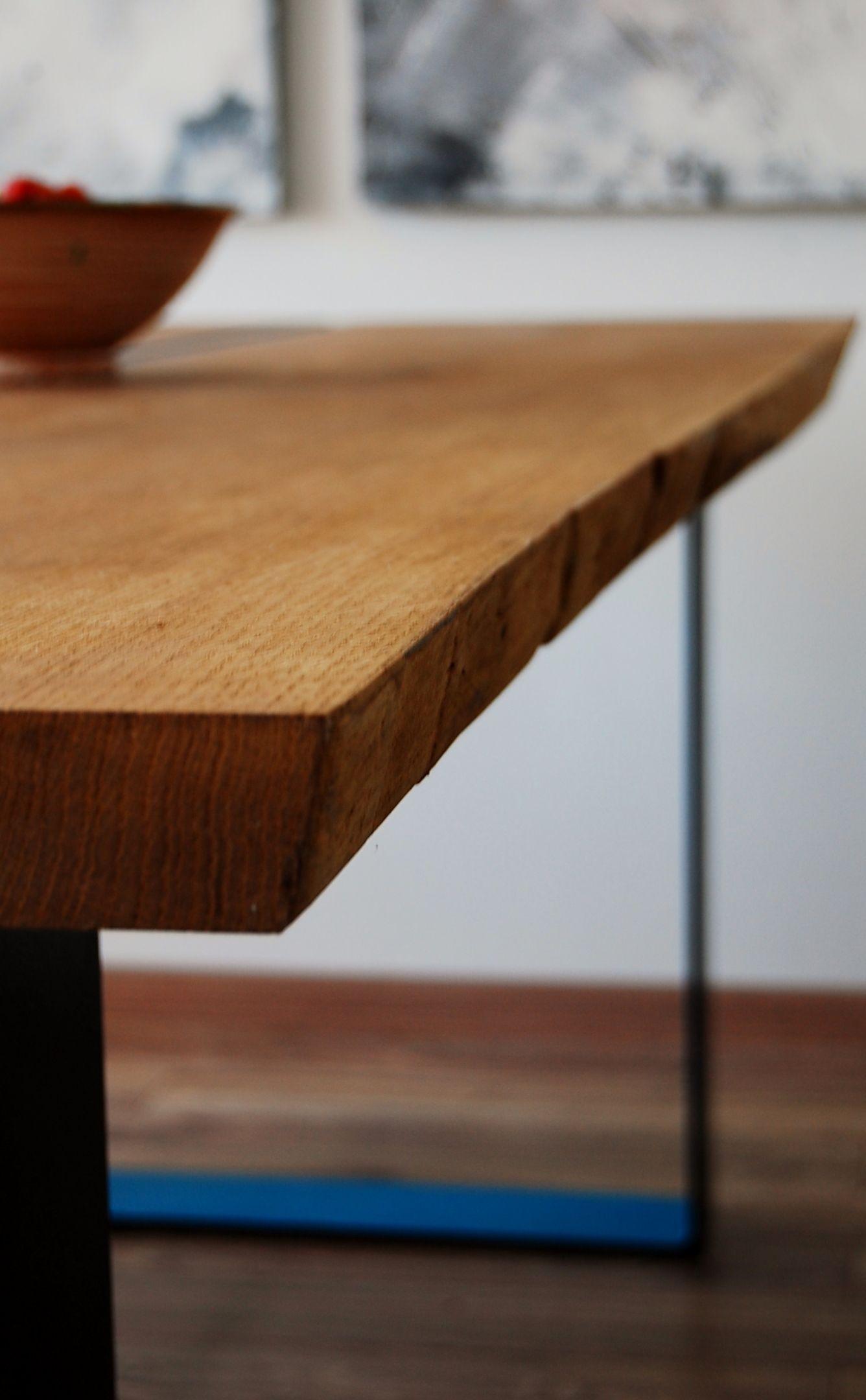 Esstisch wildeiche baumkante  Esstisch Eiche mit Baumkante | Ideen rund ums Haus | Pinterest ...