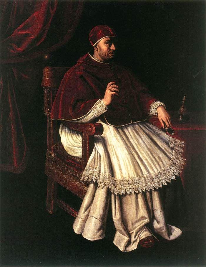 CASINI, Valore (b. 1590, Firenze, d. 1660, Firenze) Portrait of Leo X, 1628, Oil on canvas, 230 x 168 cm, Museo Storico della Caccia e del Territorio, Cerreto Guidi