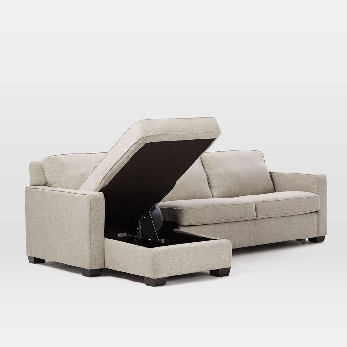 Henry® 2Piece Full Sleeper Sectional w/ Storage