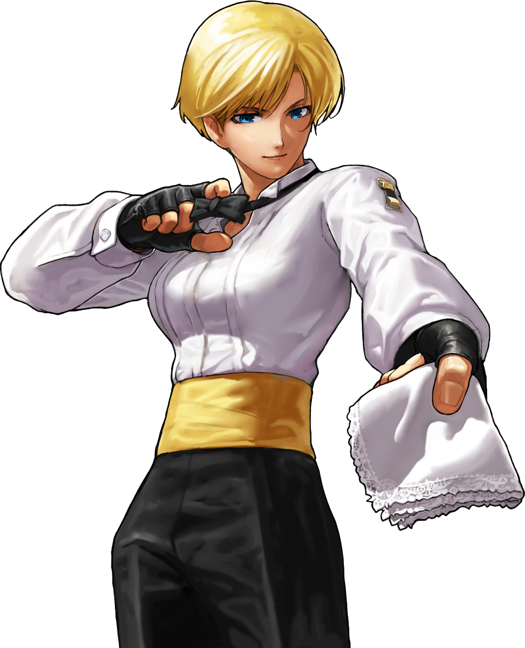 The king of fighters neowave women fighters team king anime manga illustrations - King of fighters characters pictures ...