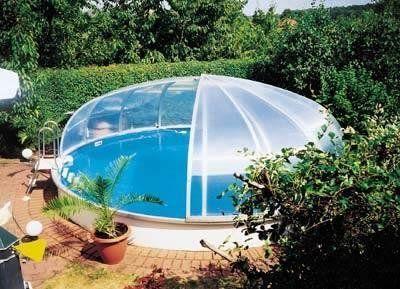v roka schwimmbad berdachung rund schwimmbadbau pool. Black Bedroom Furniture Sets. Home Design Ideas