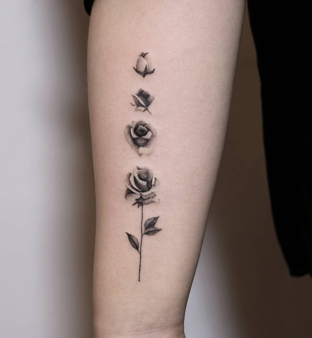 Tattoo Of Rose Small: Pin On T A T T O O S & P I E R C I N G S