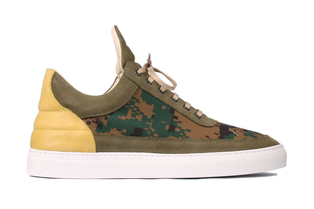 Filling Pieces Low-Top Trainer \