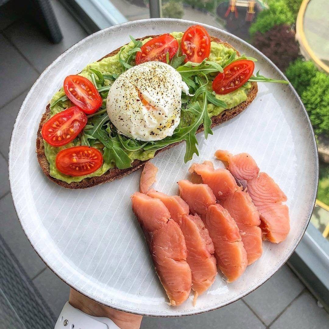 Красивая эстетическая еда правильное питание | Еда, Вкусняшки