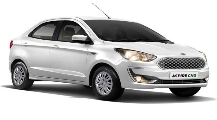 New Ford Aspire With Cng Option New Ford Aspire Launch With The