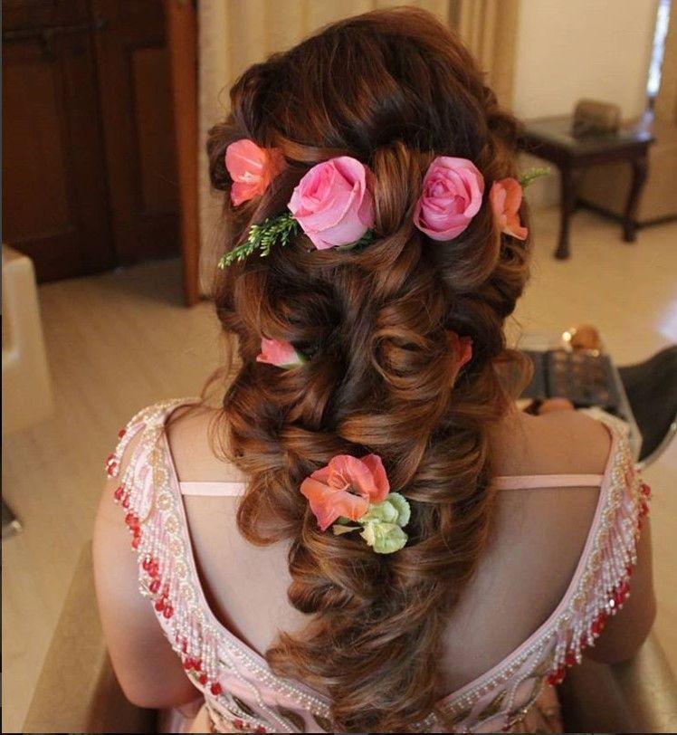 25 Pre Wedding Hairstyles For Mehndi Haldi Or More Functions: Favorite Bridal Hairstyles This Wedding Season