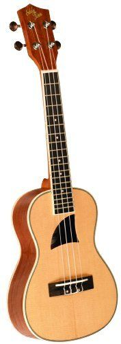 Eddy Finn EF-13-S Ukulele, High Gloss Finish by Eddy Finn. $107.01. Selected for its tight grain pattern and superior strength, the Premium Spruce that we use to build our Eddy Finn EF-13 soprano has that pure, clear and unadulterated tone that only wood of this caliber can produce. Applying the same acoustic principals found on high end guitars, the Premium Spruce we use on our ukulele tops far exceeds the norm.. Save 18% Off!