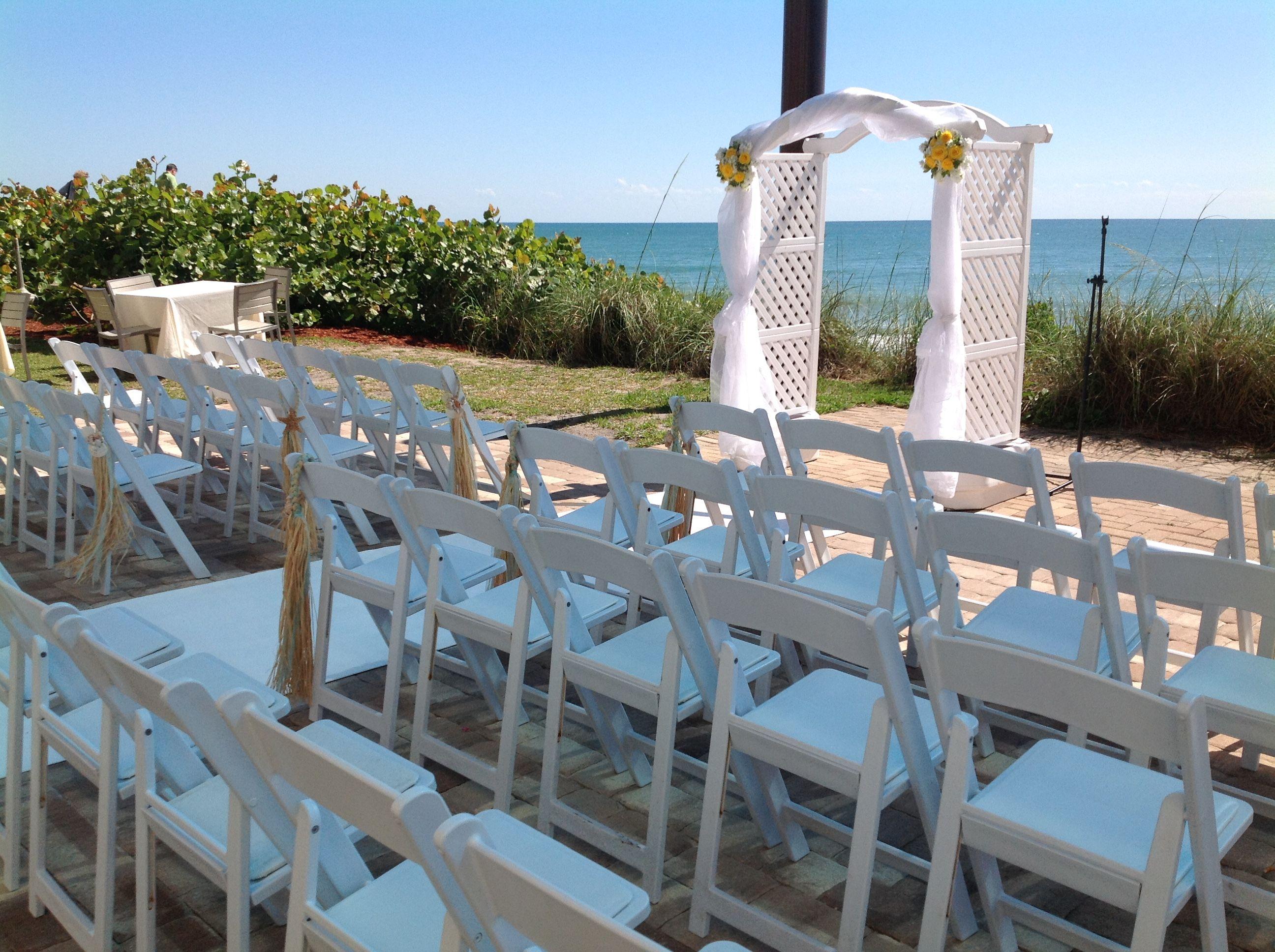 Top 10 wedding decorations november 2018 Pin by Hilton Melbourne Beach Oceanfront Weddings on Deck Weddings