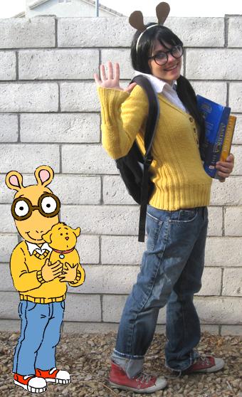 DIY Arthur Costume Inspiration AETN BeMore