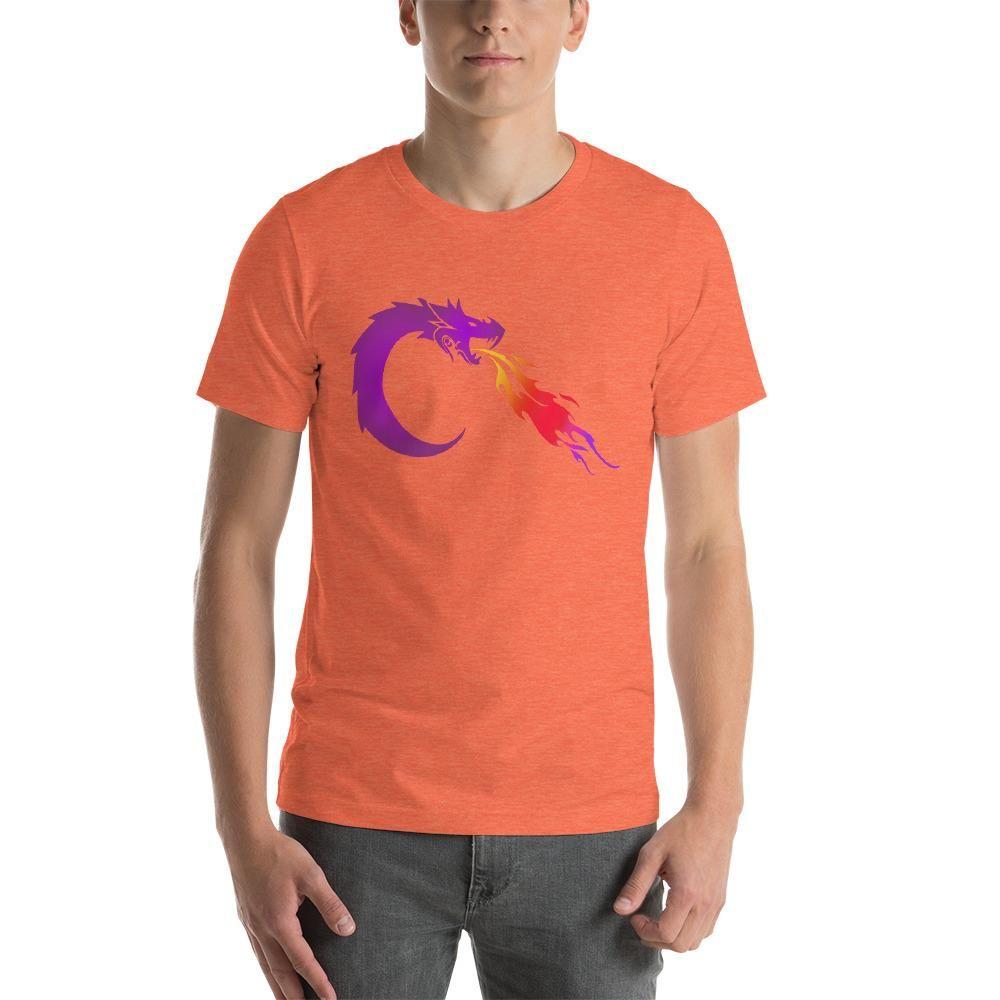 KarmaGear-T-Shirt-Ouroboros-Cotton-O-Neck-Short Sleeve -For Men