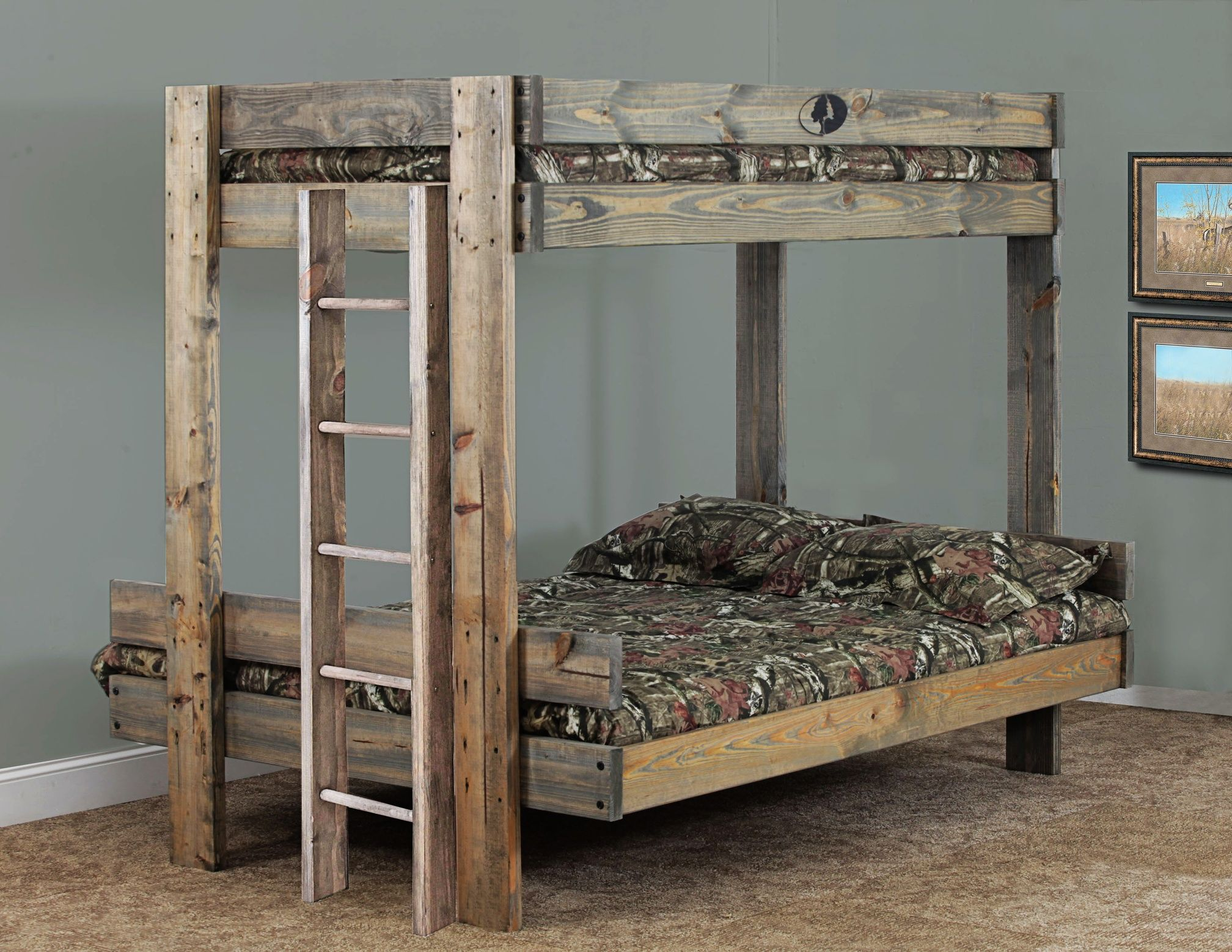 Mossy Oak Bed From Simply Bunk Beds Www Sbbed Com Nativ