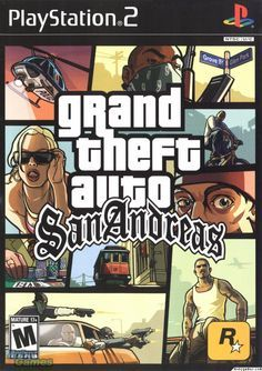 Grand Theft Auto San Andreas Playstation 2 Front Cover Juegos De Gta Juegos Para Pc Gratis Juegos Pc