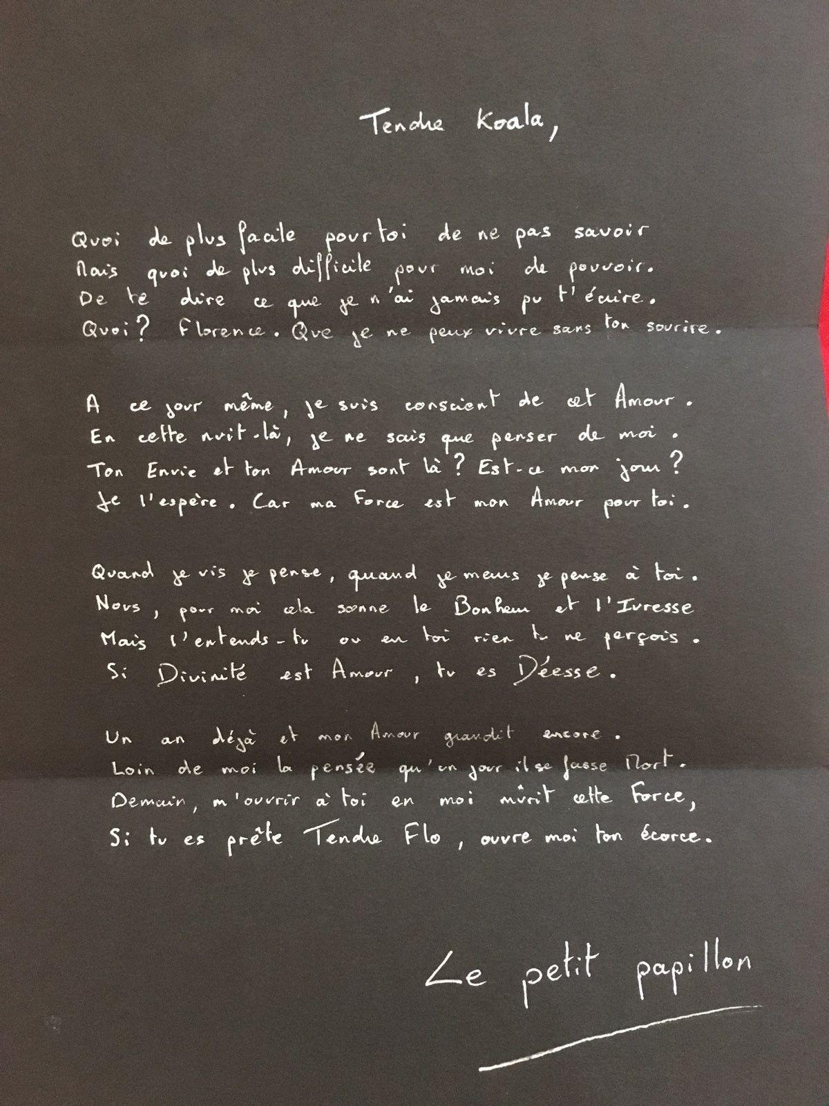 1er Poème Pour Amour Du Lycée Il Y A 20 Ans Amour Lycée