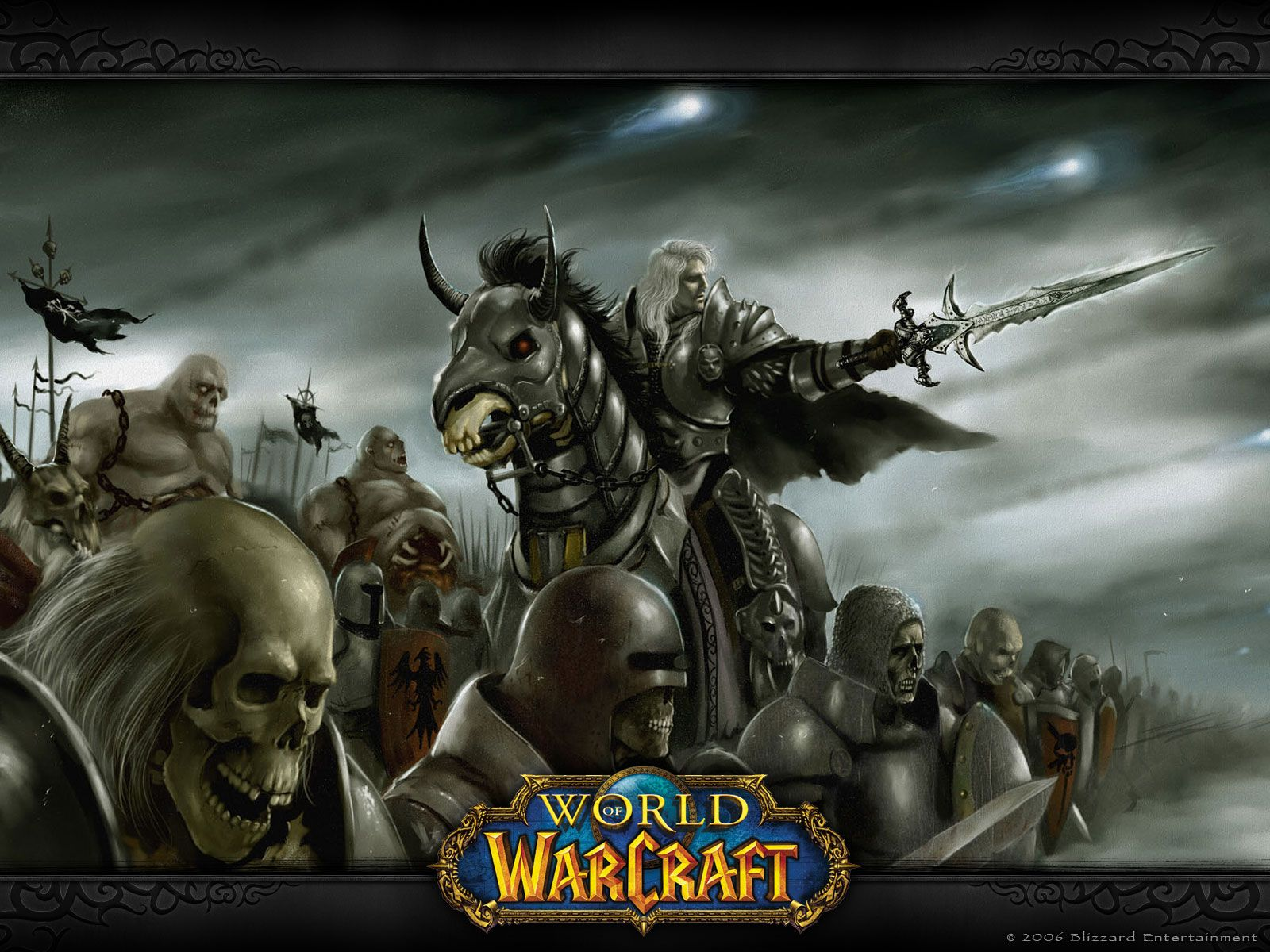 Google themes warcraft